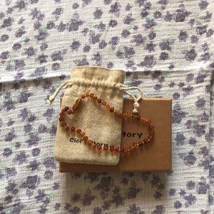 Amber necklace. Cici's Story brand.